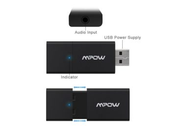 Mpow Streambot Slider Bluetooth Dongle