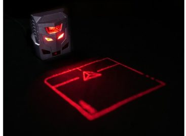 ODiN Aurora, The World's First Laser Projection Mouse