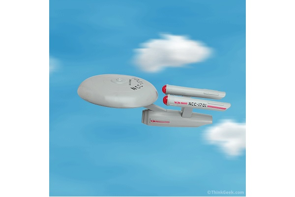 Star Trek U.S.S. Enterprise Flying Disc