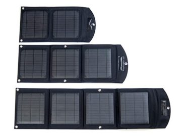 The Badger Waterproof Solar Battery USB Charger