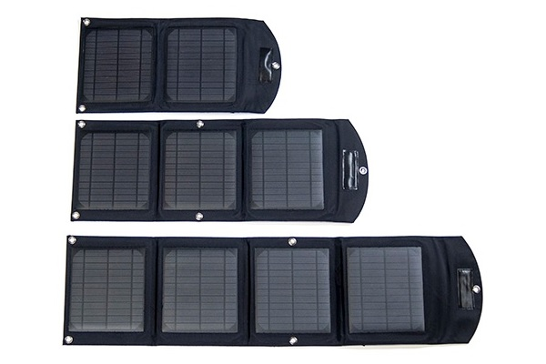 Badger Waterproof Solar Battery USB Charger