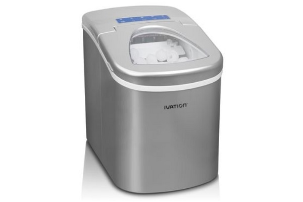 Ivation Portable High Capacity Household Icemaker