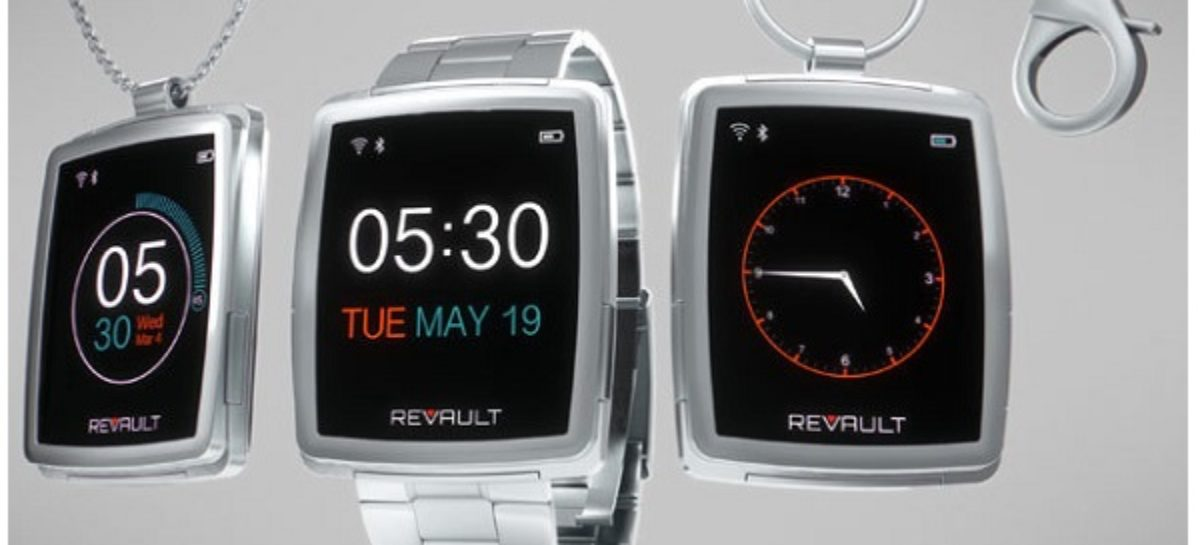 ReVault, The World's First Wearable Private Cloud