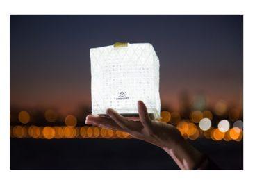 Solarpuff Folding Solar Lantern