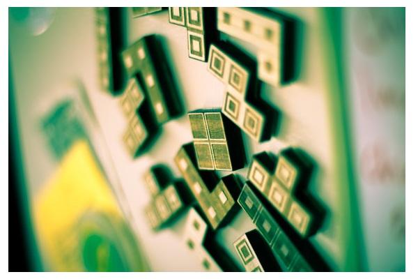 14-Piece Magnetic Wooden Tetris Set