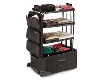 Travel Smarter With The ShelfPack Suitcase