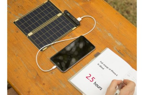 Solar Paper, The World's Thinnest Solar Charger