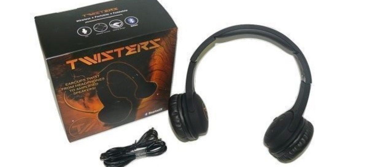 Twisters Headphones and Bluetooth Speaker