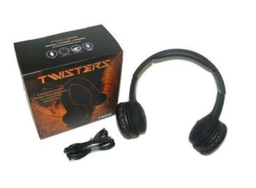 Twisters Headphones and Bluetooth Speaker