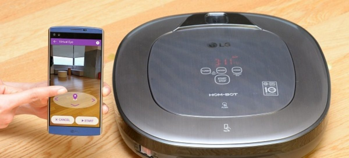 New LG Robot Vacuum Comes With Augmented Reality Controls