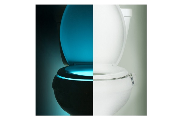 The IllumiBowl Toilet Night Light