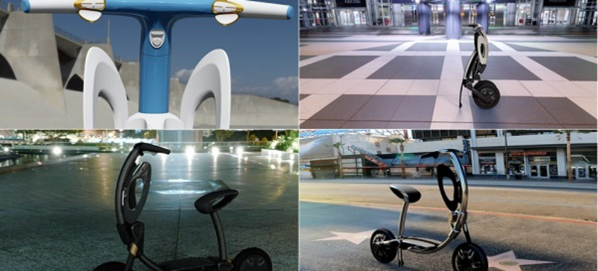 How To Get Around City Streets With The INU Folding Electric Scooter