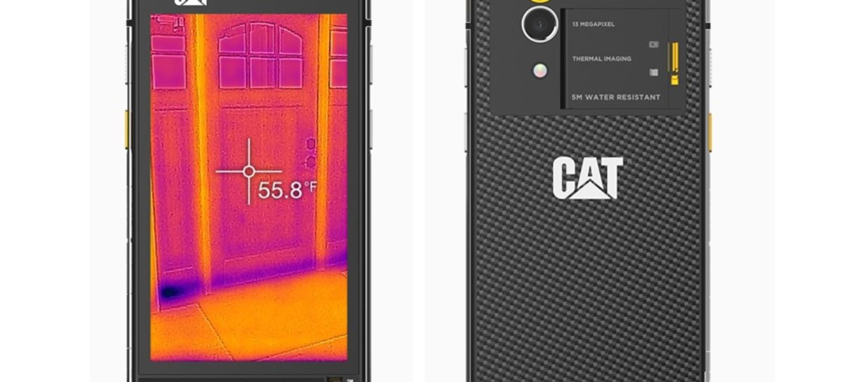 CAT S60, The World's First Smartphone With Thermal Imaging