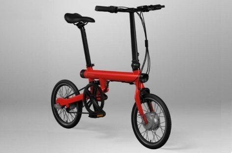 The Folding Mi Qicycle Electric Bike