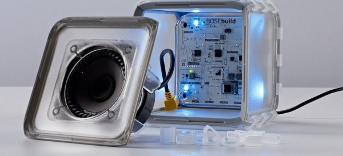 Let Your Kids Build A Bluetooth Speaker With The Bosebuild Speaker Cube