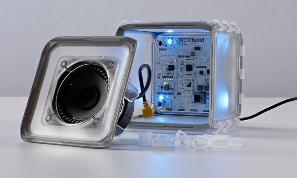 bosebuild speaker cube set