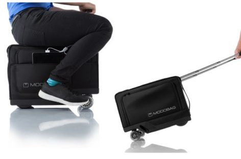 Modobag, The First Motorized Luggage You Can Ride On