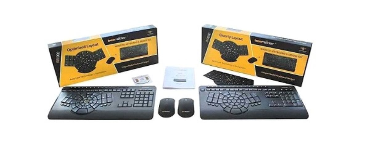 BeeRaider Introduces New Wireless Keyboard Design and Mouse Combo