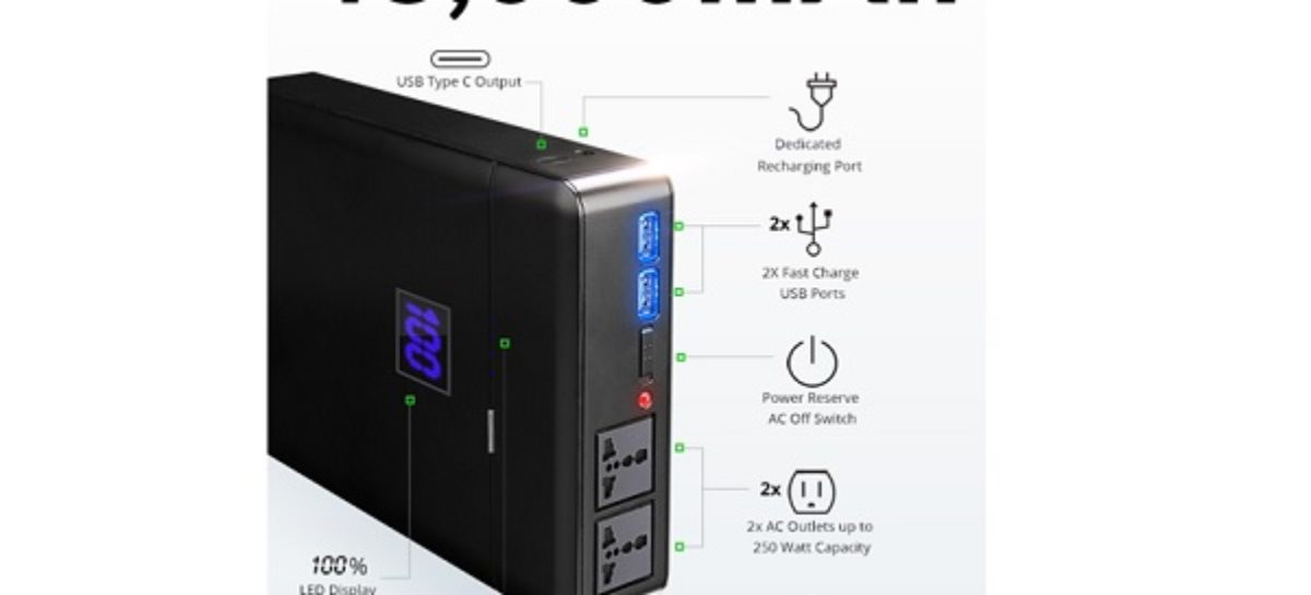 ChargeTech PLUG, World's Most Powerful Battery Pack