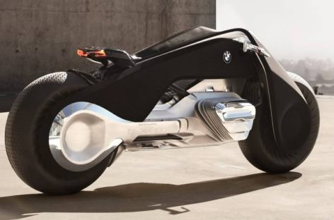 The Self-Balancing BMW Motorrad VISION NEXT 100