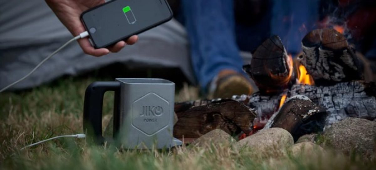 JikoPower Spark Powers Your Devices While You Cook