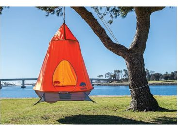 Go Camping In Style With The Treepod