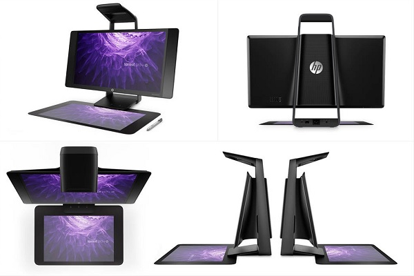 HP 3d scanning pc