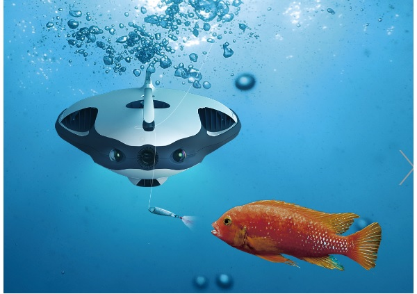 fish finder drone