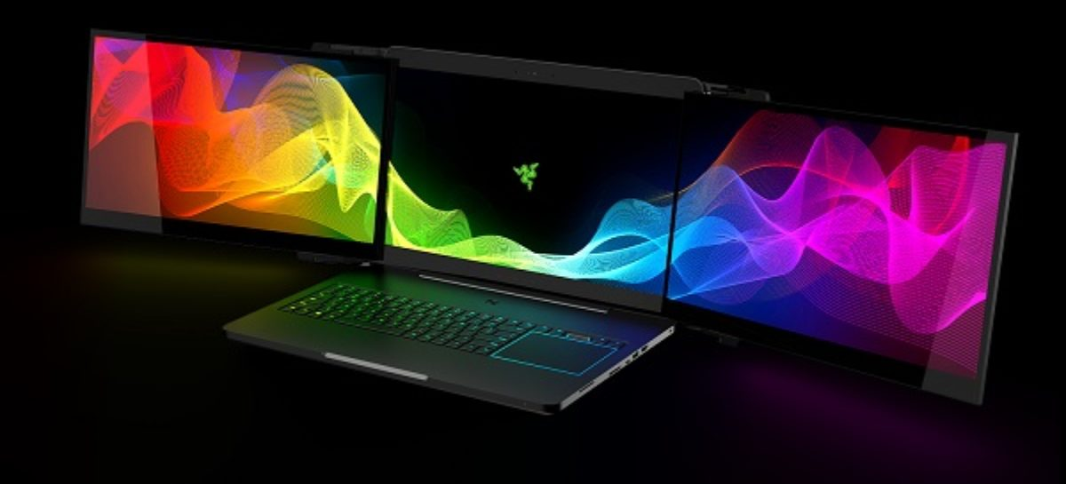 Razer Project Valerie Introduces Laptop With Three Displays