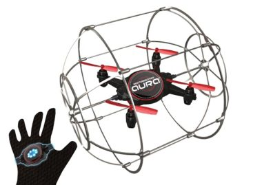Control The Aura Drone By Your Hand Movements