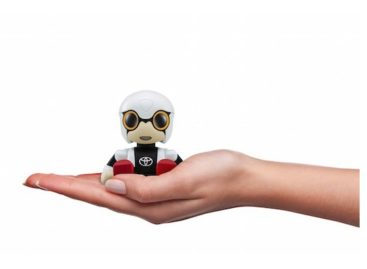 You'll Be Impressed With The Toyota Kirobo Mini Robot