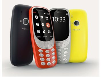 Iconic Nokia 3310 Updated and Relaunched
