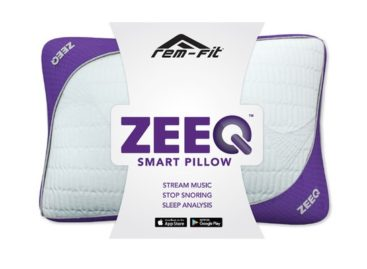 Sleep Soundly With The ZEEQ Smart Pillow