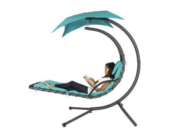 Outdoor Hanging Chaise Lounger