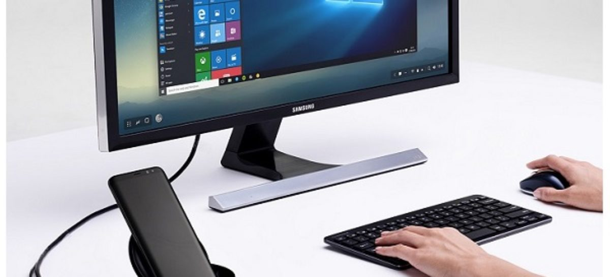 Samsung Dex Turns Your Smartphone Into A Desktop PC