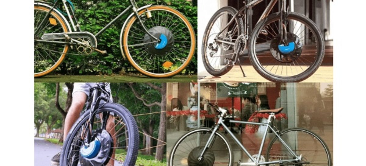 Convert Your Bicycle Into an E-Bike With The UrbanX Wheel