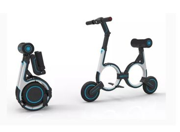 The Smacircle Electric Bike Fits Into Your Backpack