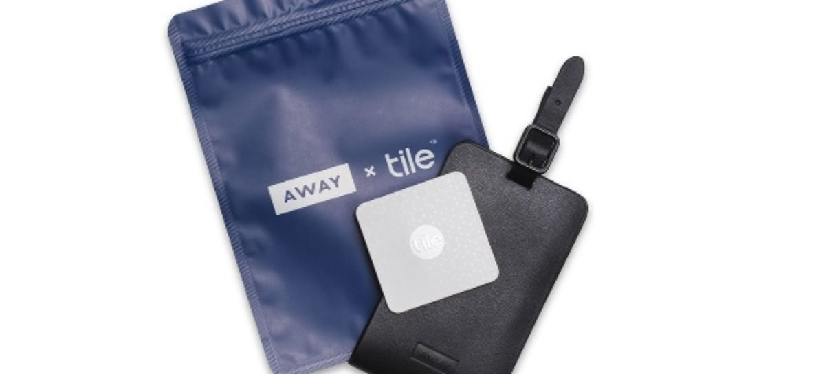 Away X Tile Luggage Tag Keeps Track Of Your Travel Bag