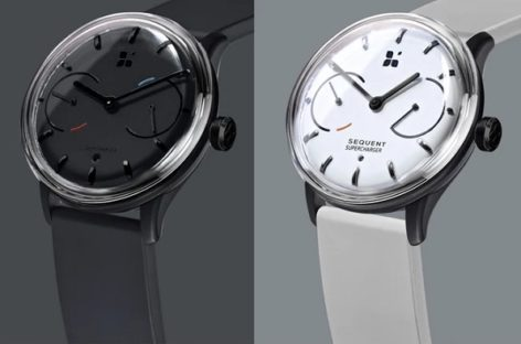 Sequent Is The World's First Kinetic Charging Smartwatch