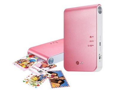 LG Bluetooth Portable Photo Printer