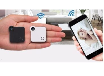 This Mini Wireless IP Camera Does A Lot