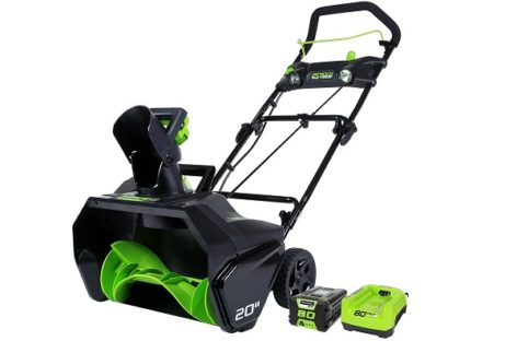 GreenWorks Pro 80V Cordless Snow Thrower