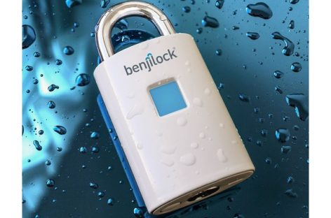 BenjiLock Fingerprint Padlock