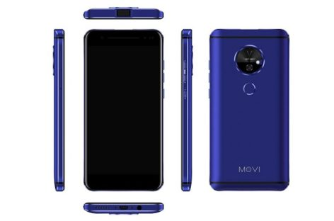 Movi Smartphone Comes With A Built-in Projector