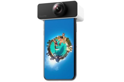 PanoClip Camera Attachment Makes 360-Degree Photos With Your iPhone