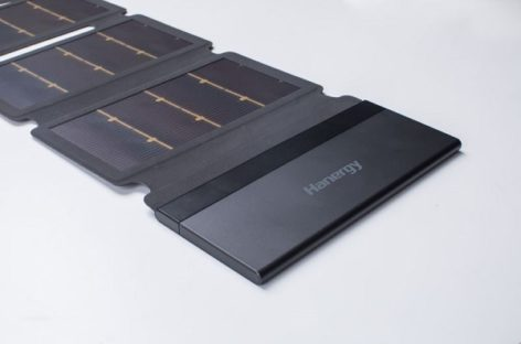 Hanergy Thin-Film Solar Charging Pack