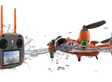 The Spry Drone Flies, Floats, And Goes Underwater