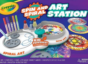 Spin And Spiral Art Station
