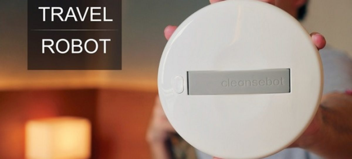 The CleanseBot Is A Pocket-sized Bacteria Killing Machine