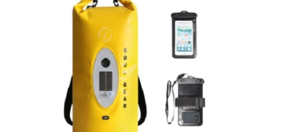 Soul Gear Waterproof Dry Bag Speaker